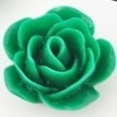 Roosje 22x11mm donker groen