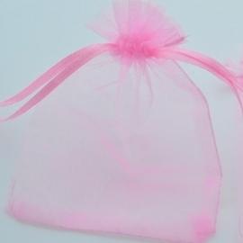 Cadeautasje 12x9cm roze