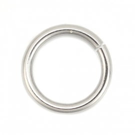 RVS ringetje 12x1,5mm, 10 stuks