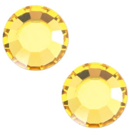 Swarovski Elements SS34 flatback light topaz yellow 45149