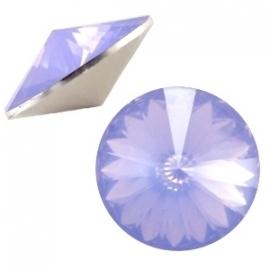 BQ rivoli 1122 12mm puntsteen sapphire blue opal 31455