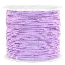 Macramé draad 0,8mm lavender lila 72689