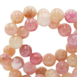 Jade peachy pink 8mm 73858