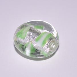Italian Style 16mm plat rond groen