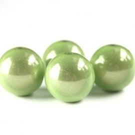 Miracle 3D kralen 12mm lime groen