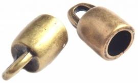 DQ eindkapje voor 3mm antiekbrons mf8233