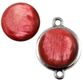 Cabochon Polaris 12mm pearl shine lilac samba red 16256