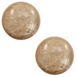 Cabochon Polaris 7mm lively colonial brown 56129