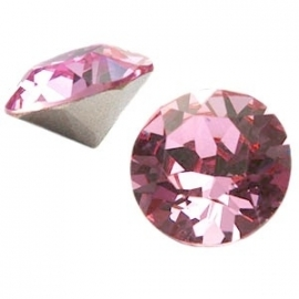 Swarovski Elements puntsteen SS29 6.2mm Light Rose 19987