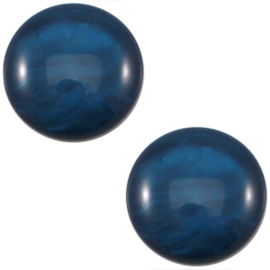 Cabochon Polaris 12mm mosso shiny denim blue 19536