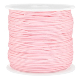 Macramé draad 0,8mm light pink 37755
