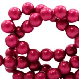 Glaskraal 4mm glitter dust cherish pink 49174