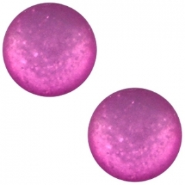 Cabochon Polaris 20mm paipolas matt purple orchid 20889