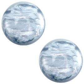 Cabochon Polaris 7mm jais light sapphire blue 27474