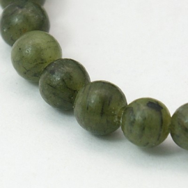Taiwan Jade olive green 4mm X-Z0NCT011