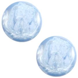 Cabochon Polaris 7mm jais cloud blue 27477
