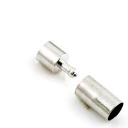 Sluiting voor 5mm nikkelkleur d14734