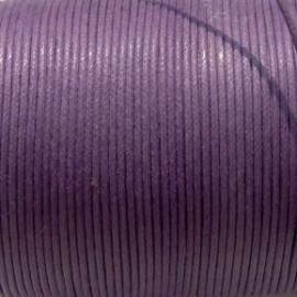 Waxkoord paars 0,5mm per meter