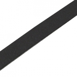 DQ Leer plat 10mm black 26987