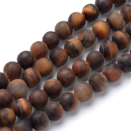 Tiger Eye frosted 8mm G-T055