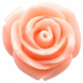 Roosje 15x7mm rose peach orange