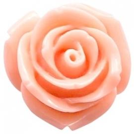 Roosje 15x7mm rose peach orange