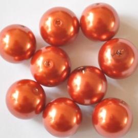Glasparel 12mm warm oranje +
