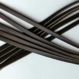 DQ Leer plat 6mm trend bruin mf17320