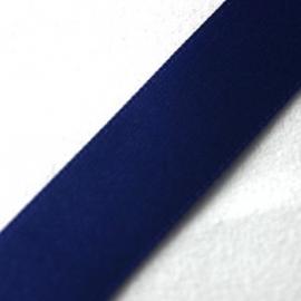 Satijnlint 10mm per meter donker blauw