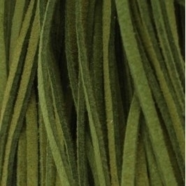 Imitatie suede 3mm donker groen 16509