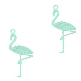 Bohemian bedel flamingo 22x11mm fresh mint green 54218