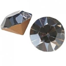 Preciosa puntsteen SS39 8mm Crystal Velvet 13966