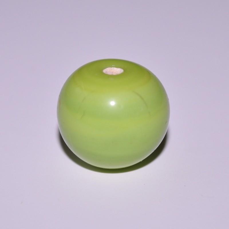 Glaskraal 11mm rond lime