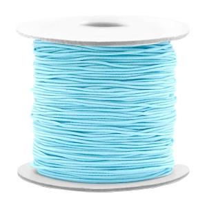 Elastisch draad 0,8mm light turquoise blue 53026