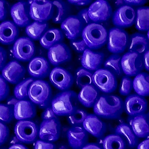 Rocailles 4mm 6/0 dazzling blue 60204