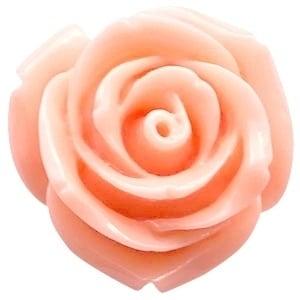 Roosje 11x8mm rose peach orange