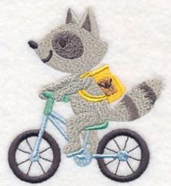 Wasbeer op racefiets - FV10