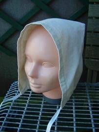 DM01 - Damesmutsje van linnen of katoen
