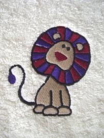 Baby badcape met Leeuw - BB05