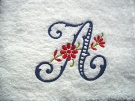 """Handdoek met Monogram """"Daisy"""""""