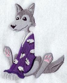 Wolf in pyjama - PD12