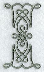 """Badtextiel met monogram """"Celtic"""""""