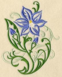 Handdoek met Zonne-orchidee