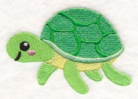 Baby badcape met Baby schildpad - ZB03