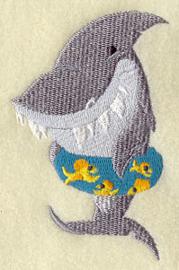 Haai met zwemband - ZB09