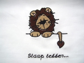 Ledikantlakentje Jungle serie - Leeuw