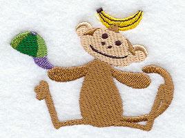 Aapje met banaan #2