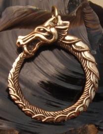 HA09 - Viking Midgard slangenhanger van brons