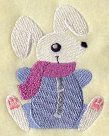 Winter konijn - WD08