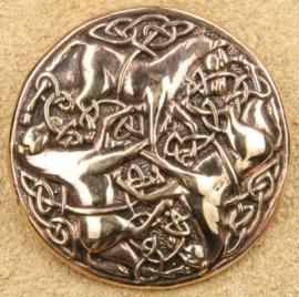 BR04 - Bronzen Keltische paardenbroche